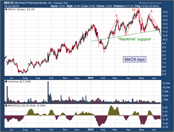 1-year chart of Tesla (Nasdaq: MACK)