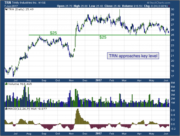 1-year chart of Trinity (NYSE: TRN)