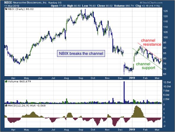 1-year chart of Rayonier (NASDAQ: NBIX)